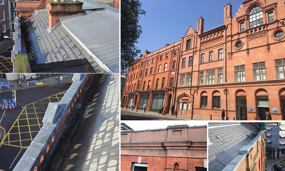 Dublin Dental Hospital Roof Repairs